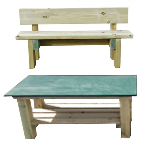 sturdy bench smooth top table and sturdy bench special offer from