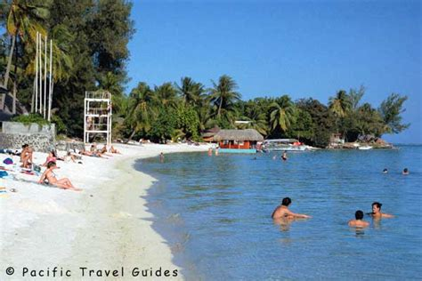 pictures  hotel matira beach french polynesia