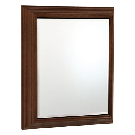 lowes medicine cabinets with mirrors shop estate by rsi 22 5 in x 27 5 in rectangle surface