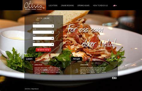 design restaurant online restaurant web design by chimpkiddo on deviantart
