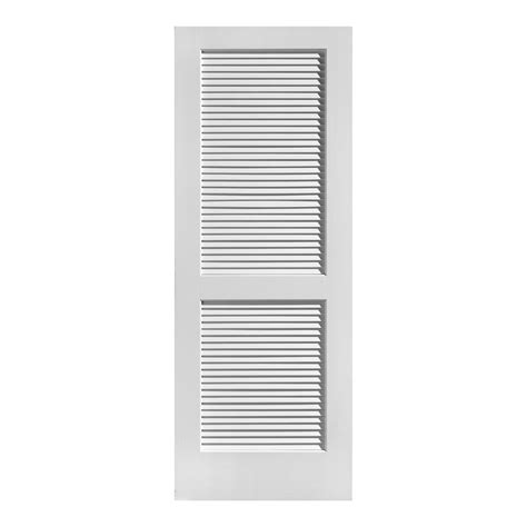 Louver Doors For Closets Louvered Closet Doors Interior 30 In X 80 In 2 In Louver Louver Pecan Composite Interior
