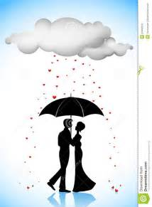 couples sous le parapluie sous la pluie d amour photos