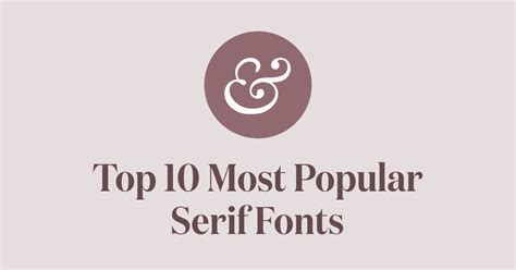 what is the best font top 10 most popular serif fonts of 2018 183 typewolf