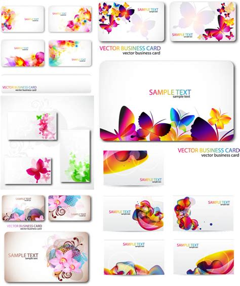 Business Card Template Vector Free by Business Cards Vector Templates 3 Vector Graphics