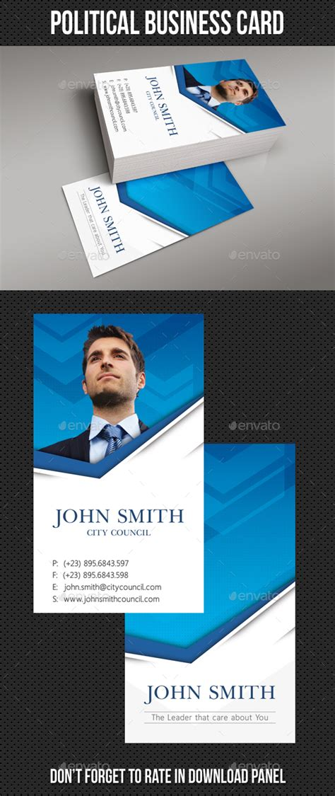 political caign business card templates political business card template by rapidgraf graphicriver