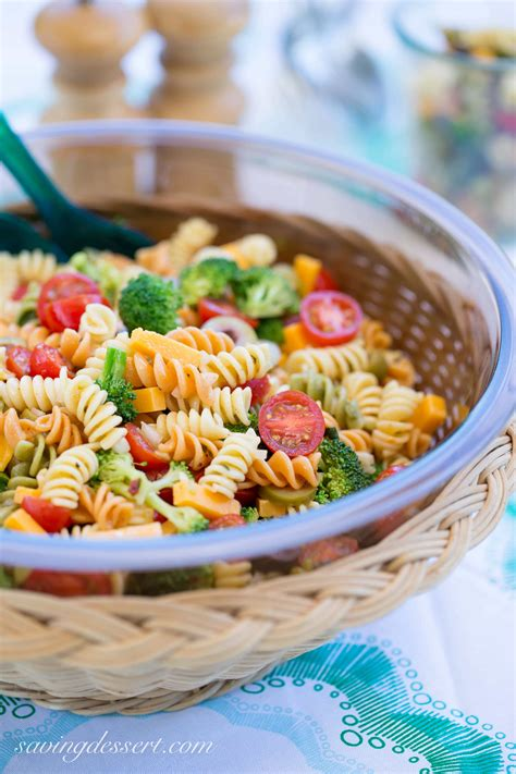 pasta salad italian dressing easy pasta salad with zesty italian dressing saving room