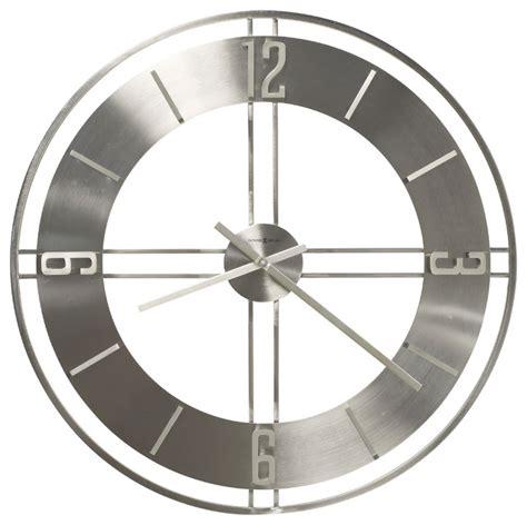wall clock modern howard miller modern 30 quot oversized quartz wall clock
