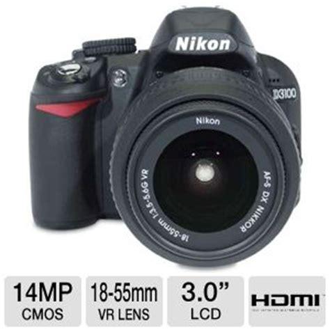 nikon d3100 25472 digital slr camera 14.2 megapixels, 3