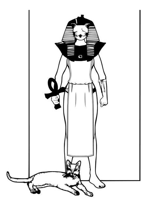 imagenes egipcias dibujos dibujo para colorear dios egipcio img 26990