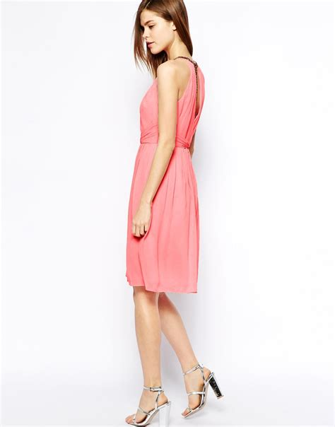 Dress Lena Ij 1 coast lena dress in pink lyst