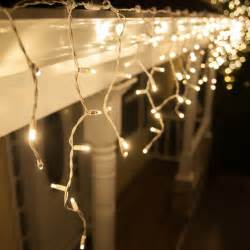 led lights icicle led lights 70 5mm warm white twinkle led