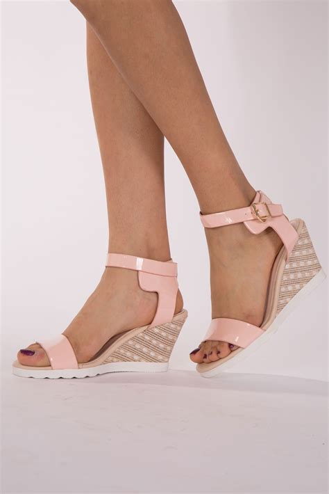 Wedges Pin Merak 4 5cm wedge heels ha heel