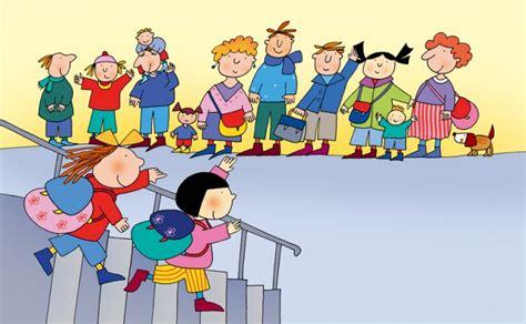 clipart bambini a scuola infanzia novembre 2011