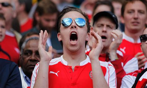 arsenal fans arsenal fans should be too embarrassed to celebrate a