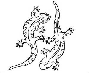 22 lizard templates crafts colouring pages free
