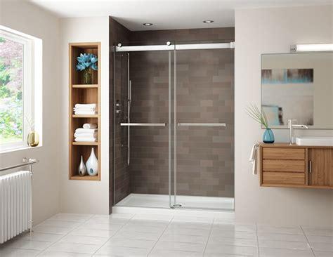 Bypass Shower Doors Fleurco Gemini Bypass Shower Doors Creative Mirror Showers