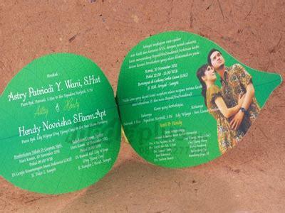 Undangan Bambu Penuh Fc 1 cetak kartu undangan pernikahan dengan harga murah