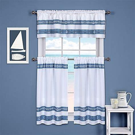 Nautical Kitchen Curtains 22 Best Images About Nautical Curtains On Sailboats Nautical And Print Fabrics