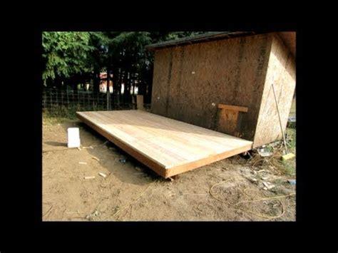 build     wood deck  floor   outdoor