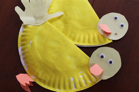 Duck Paper Craft - preschool homeschool all about ducks the purposeful