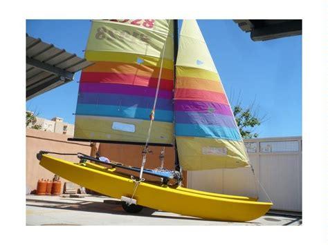 hobie 16 catamaran dimensions hobie cat 16 in cn el perell 243 catamarans sailboat used
