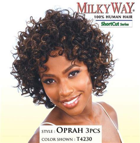 can u dye lord cliff afropuff hair milky way human hair weave afro curl 10in hair human wavy