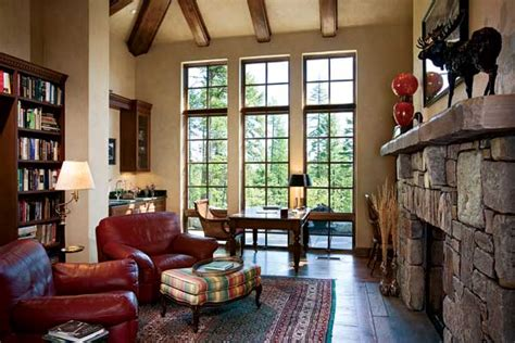 montana home decor a french country montana timber home
