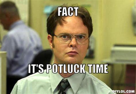 Potluck Meme - fact it s potluck time potluck pinterest potlucks