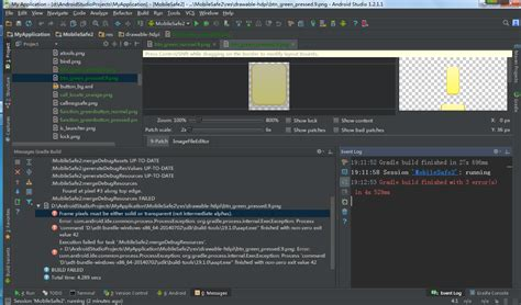android studio layout params android studio build 9 png format error stack overflow