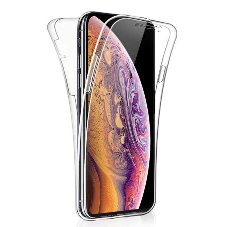 apple iphone xs max cover 360 protection olixar flexicover reviews