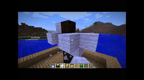 how to build a working boat in minecraft no mods tutorial how to build a boat in minecraft youtube