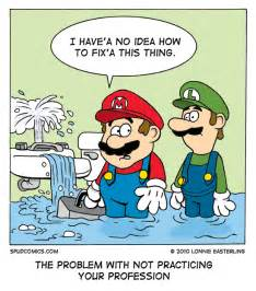 Plumbing Puns by Problem Mario S Plumbing Problem Maximus Walker Brilliant