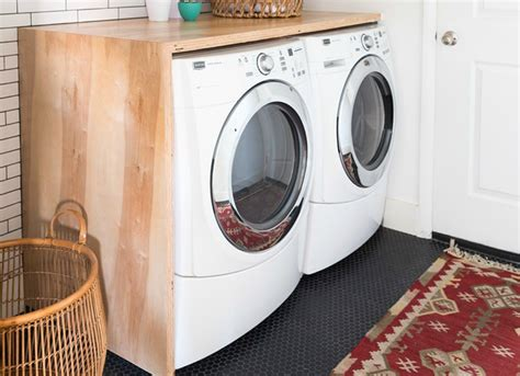 diy laundry room countertop home improvement ideas 14