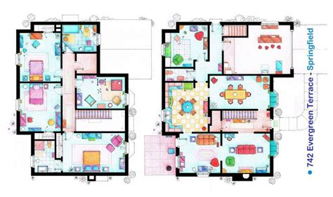 the simpsons house floor plan pinterest the world s catalog of ideas