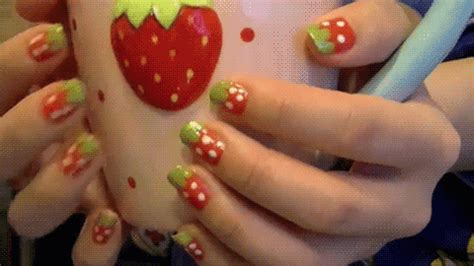 nail art tutorial gif nail art gifs find share on giphy