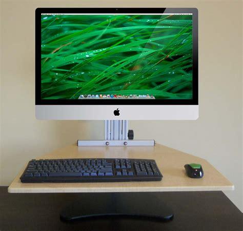 Imac Standing Desk by The Standing Desk I Am A Convert Chris Blattman