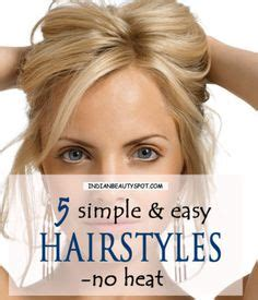 easy hairstyles no heat hair on pinterest toddler hairstyles no heat and waves