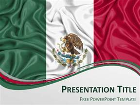 mexico flag powerpoint template presentationgo
