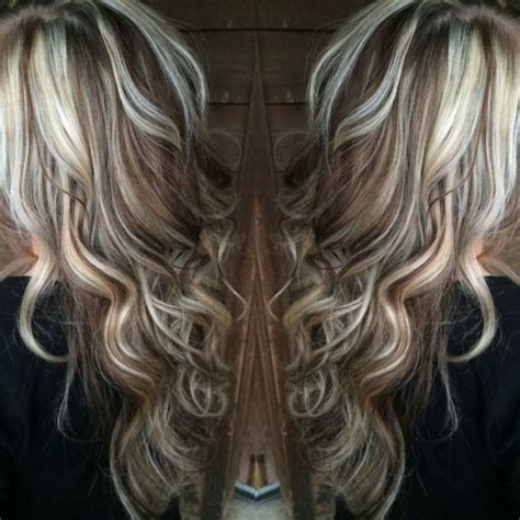 low lights and hi lights beach wave hair hair fairy by blonde highlights with chocolate brown lowlights by