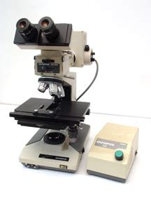 olympus bh2 bht upright light microscope