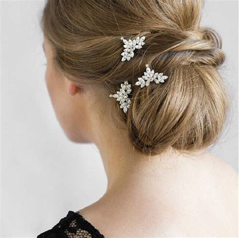 Updo Hairstyle Accessories by This Updo Wedding Hairstyle With Handmade Accessories