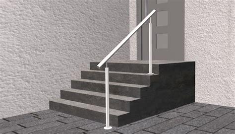 treppenhandlauf edelstahl treppenhandlauf edelstahl freistehend mit stift