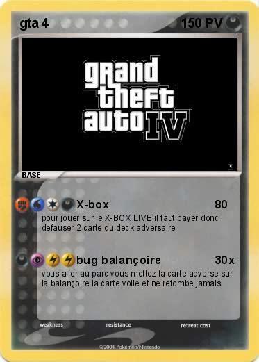 Bug Balancoire Gta 4 by Pok 233 Mon Gta 4 7 7 X Box Ma Carte Pok 233 Mon