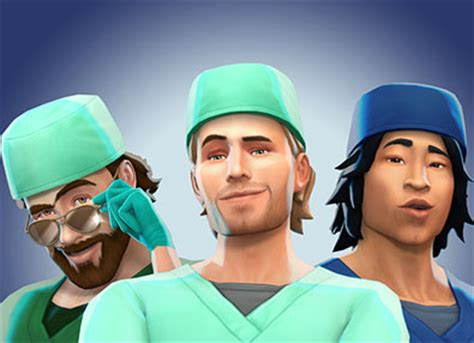 sexy doctors in the sims 4 get to work trailer sims online