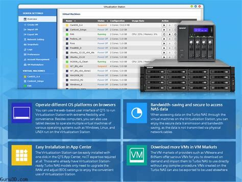 nas os linux qnap virtualization station enabling running multiple os