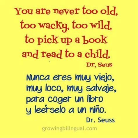 children s spanish books quot celebrating dr seuss quotes dichos dr seuss quotes and reading