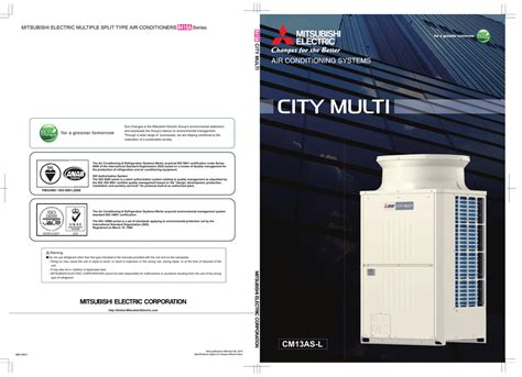 mitsubishi electric puhy rp specifications manualzzcom