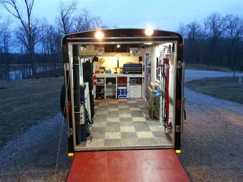 Enclosed Cing Hammock Best 25 Enclosed Trailers Ideas On Enclosed