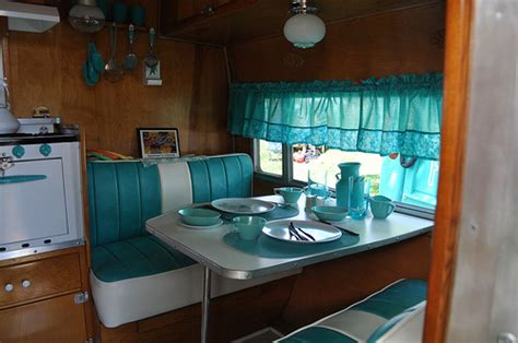 Vintage Travel Trailer Interior Pictures by Vintage Travel Trailer Interior A Photo On Flickriver