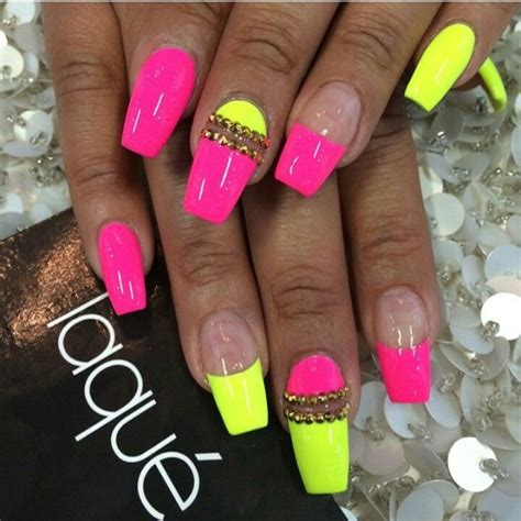 Nägel Gelb by Pink Yellow Nails N A I L S Yellow Nails